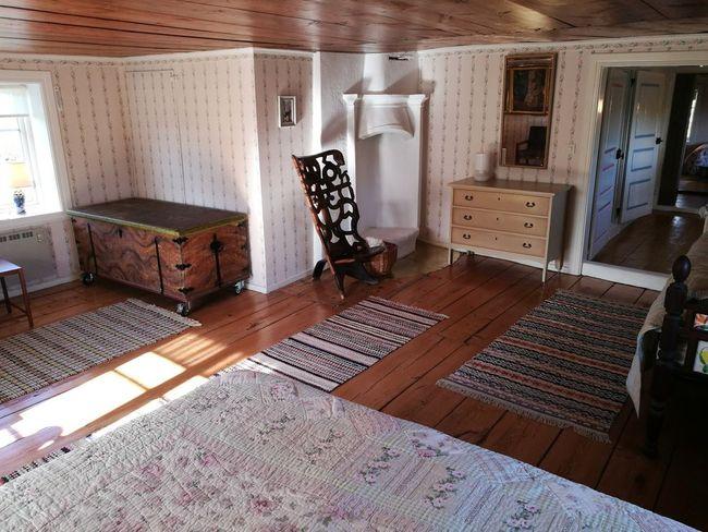 Bedroom, one.