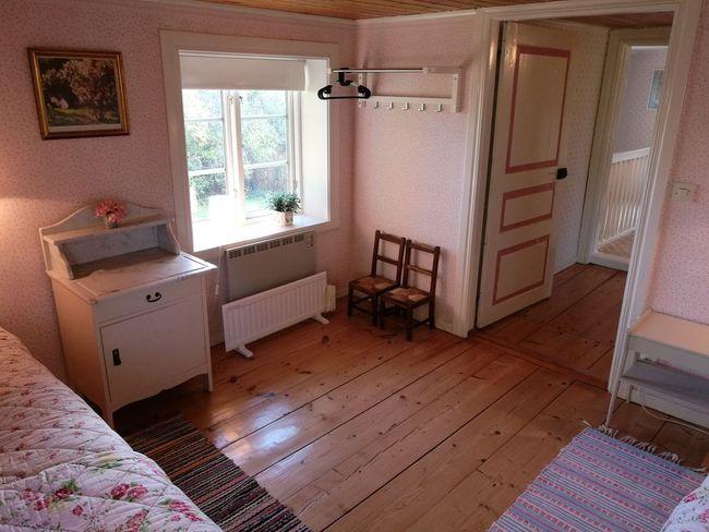 Bedroom, three.